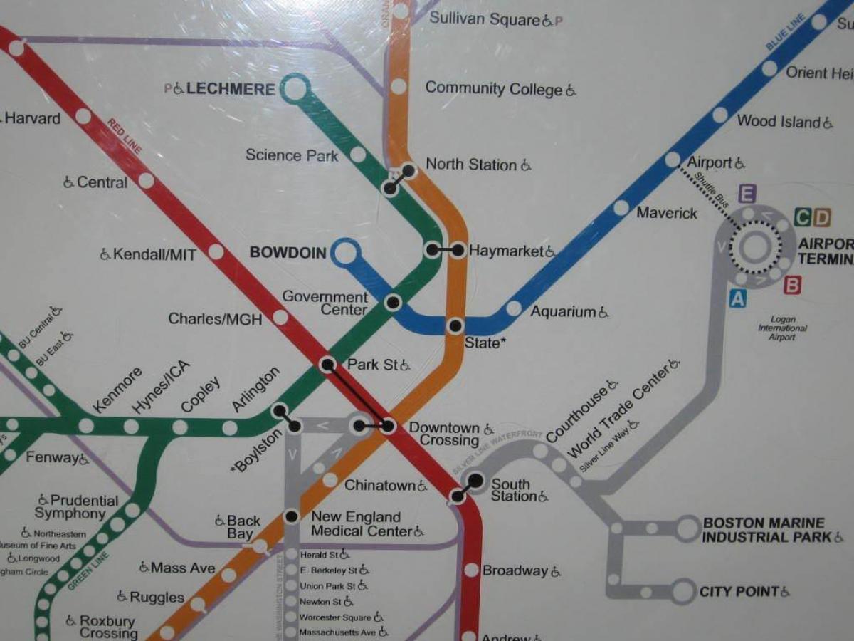 Sodra Station Boston Karta Boston South Station Karta Usa