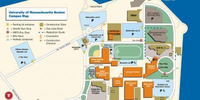Boston Map Kartor Boston Usa